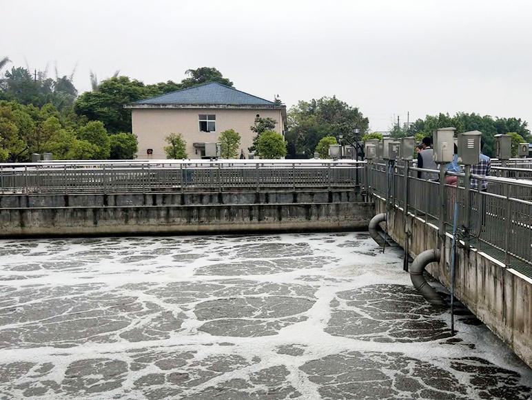 南溪污水处理厂验收项目